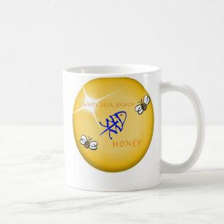 Honey Label White Deer Ranch Coffee Mug