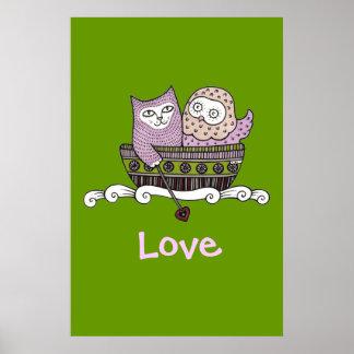 Honey Love Art Poster