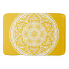 Honey Mandala Bath Mat