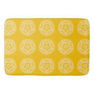Honey Mandala Bath Mat