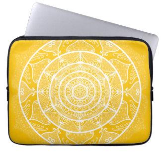 Honey Mandala Laptop Sleeve