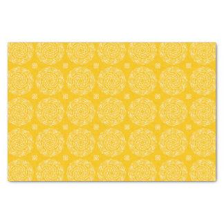 Honey Mandala Tissue Paper
