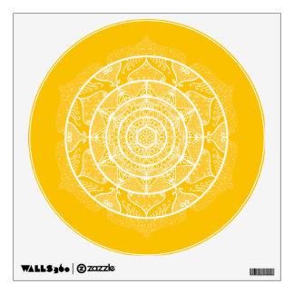 Honey Mandala Wall Decal