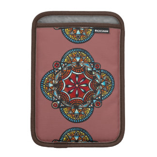 Honey nest - bohemian tribal orange mandara hippie iPad mini sleeve