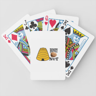 honey nut bicycle playing cards