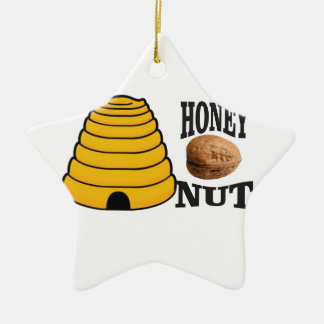 honey nut ceramic ornament