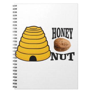 honey nut notebook