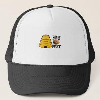 honey nut trucker hat