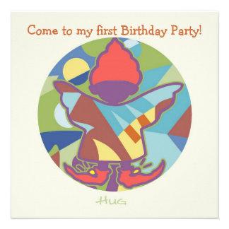 Honey Pie - Hug (Boy)  Party invitation card