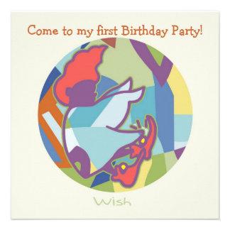 Honey Pie - Wish (Boy)  Party invitation card