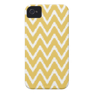Honey Southern Cottage Chevrons iPhone 4 Case-Mate Case