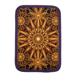 Honey Star Mandala iPad Mini Sleeve