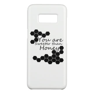 Honey Theme With Positive Words Case-Mate Samsung Galaxy S8 Case