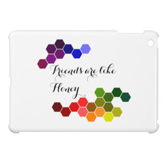 Honey Theme With Positive Words Cover For The iPad Mini