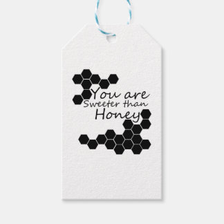 Honey Theme With Positive Words Gift Tags