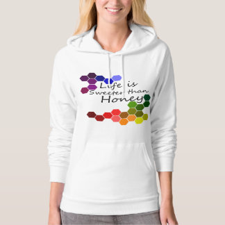Honey Theme With Positive Words Hoodie