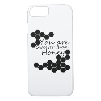 Honey Theme With Positive Words iPhone 8/7 Case