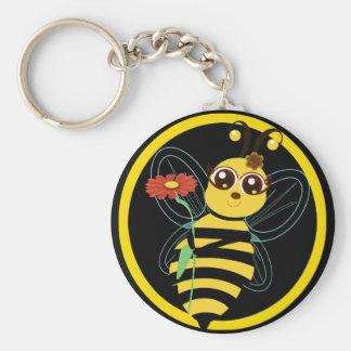 Honey Toon Bee Keychain