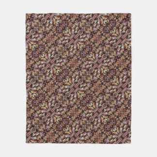 Honey Walnuts and Pecans 0224 Fleece Blanket