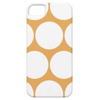 Honey Yellow Large Polka Dot iPhone 5 Case