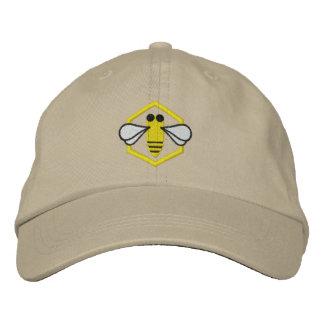 Honeybee Beekeeper Hat (Embroidered)