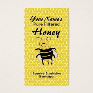 Honeybee Business Cards for Beekeeping or Honey