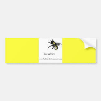 Honeybee Conservancy bumpersticker -Bee Aware Bumper Sticker
