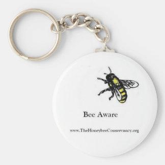 Honeybee Conservancy Keychain