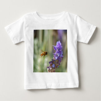 Honeybee on Lavender Baby T-Shirt