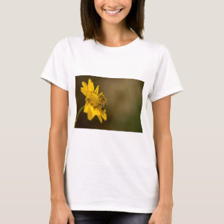 Honeybee on Yellow Flower T-Shirt