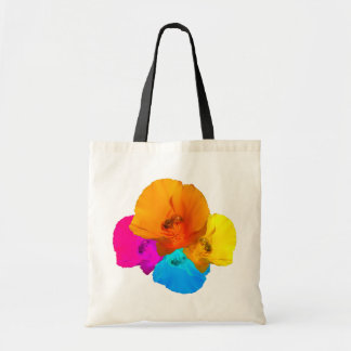 Honeybee Poppy Art Bags