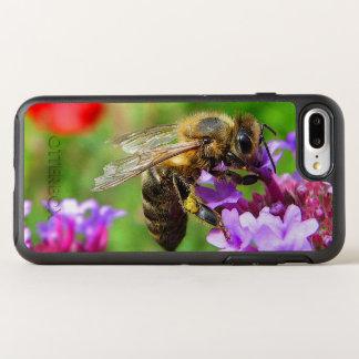 Honeybee Purple Flower OtterBox Symmetry iPhone 7 Plus Case
