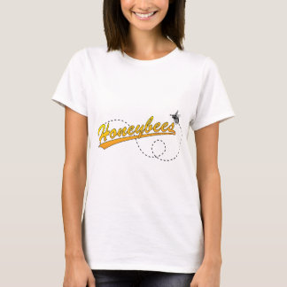 Honeybees Ladies Fitted Baby Doll T-Shirt