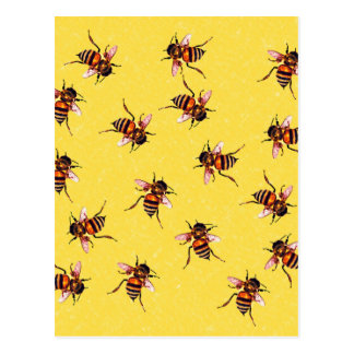 Honeybees Postcard