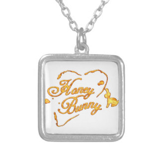 HoneyBunny_Tshirt.png Silver Plated Necklace