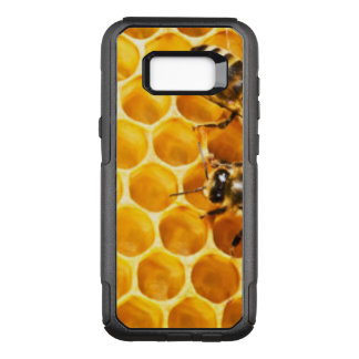 Honeycomb and Bees Pattern Design OtterBox Commuter Samsung Galaxy S8+ Case
