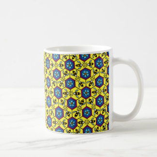 Honeycomb and Bumble Bees Coffee Mug