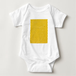 Honeycomb Background Gifts Template Baby Bodysuit