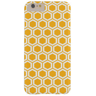 Honeycomb Bee Geometric Pattern Barely There iPhone 6 Plus Case