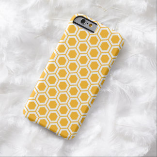 Honeycomb Bee Geometric Pattern iPhone 6 Case