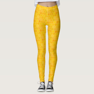 Honeycomb Beehive Leggings