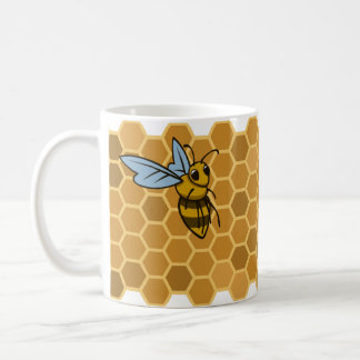 Honeycomb Bumble Bees Coffee Mug