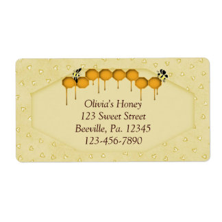 Honeycomb Business Label