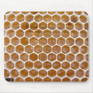 Honeycomb De   Natural Miel Rug   Mouse Mouse Pad