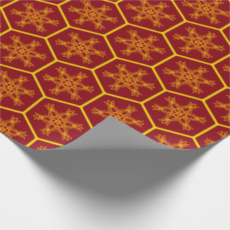Honeycomb drawing pattern