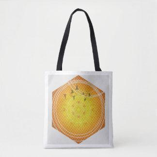 Honeycomb Geometry Tote Bag