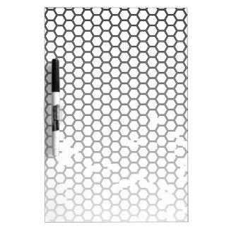 Honeycomb Grunge Dry Erase Board