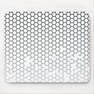 Honeycomb Grunge Mouse Pad
