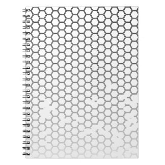 Honeycomb Grunge Notebooks
