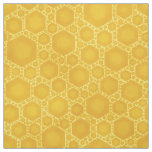 Honeycomb Honey Beehive Bee Pattern Cute Nature Fabric